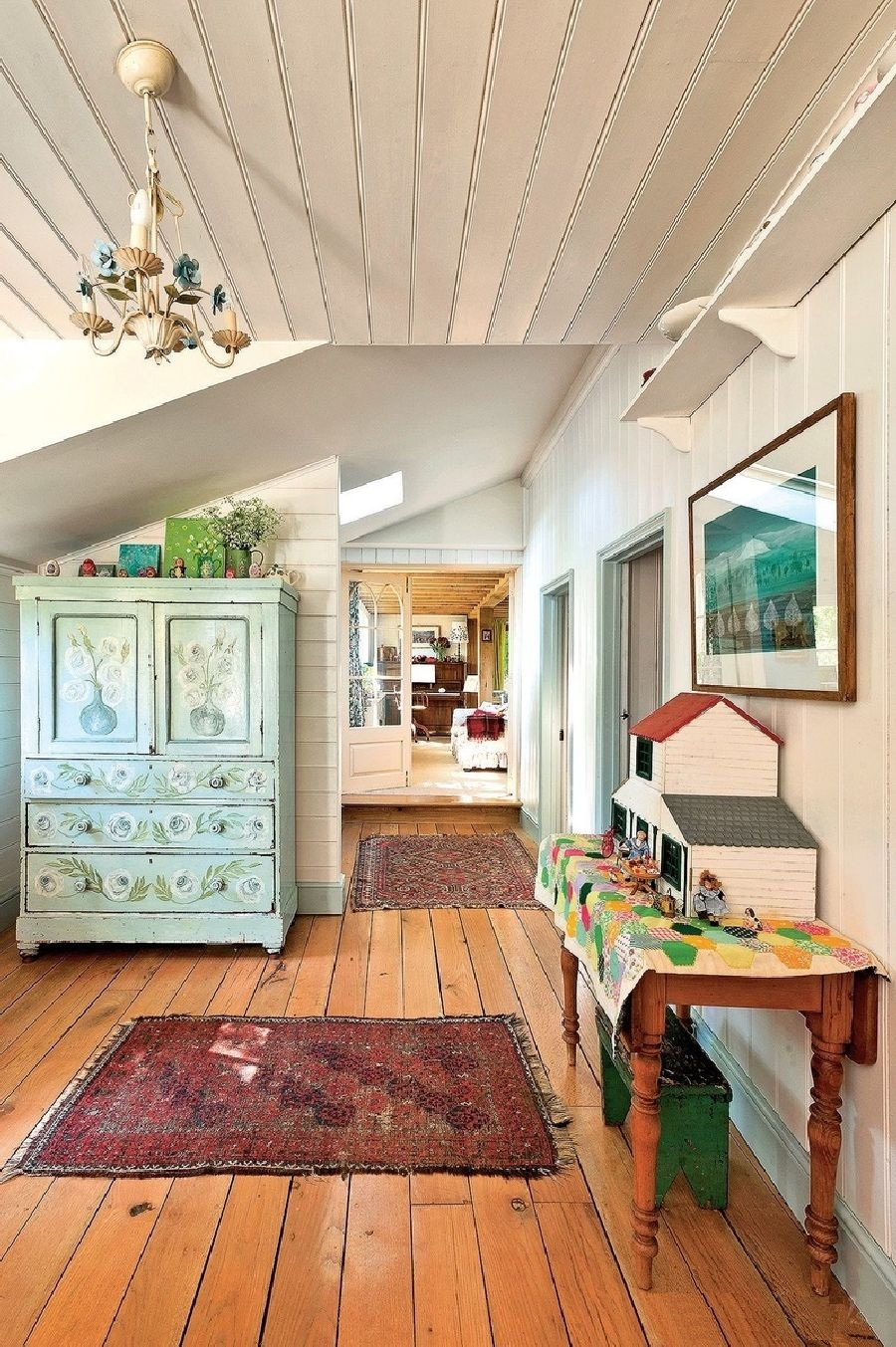 adelaparvu.com despre casa rustica in Anglia, The Rosy Tea Company cottage (14)