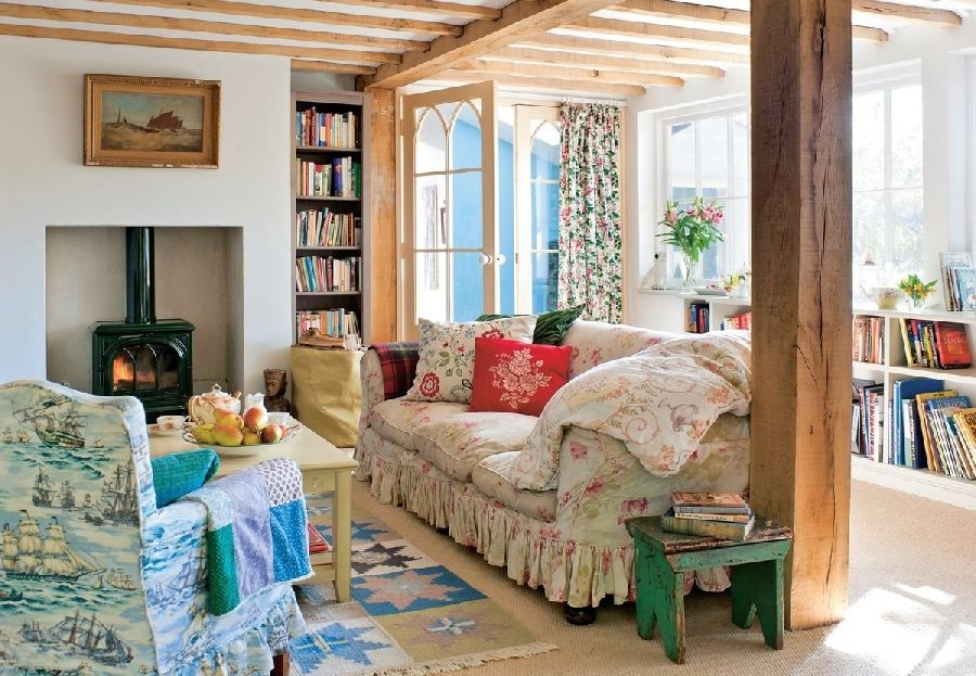adelaparvu.com despre casa rustica in Anglia, The Rosy Tea Company cottage (17)