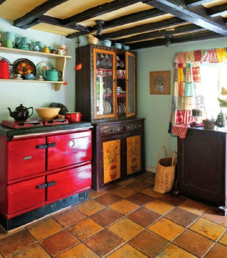 adelaparvu.com despre casa rustica in Anglia, The Rosy Tea Company cottage (22)