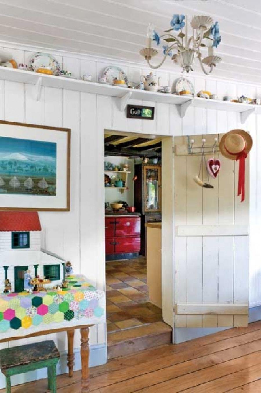 adelaparvu.com despre casa rustica in Anglia, The Rosy Tea Company cottage (4)
