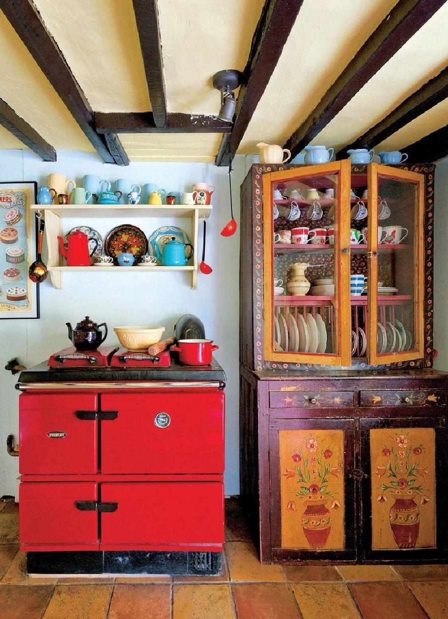 adelaparvu.com despre casa rustica in Anglia, The Rosy Tea Company cottage (9)