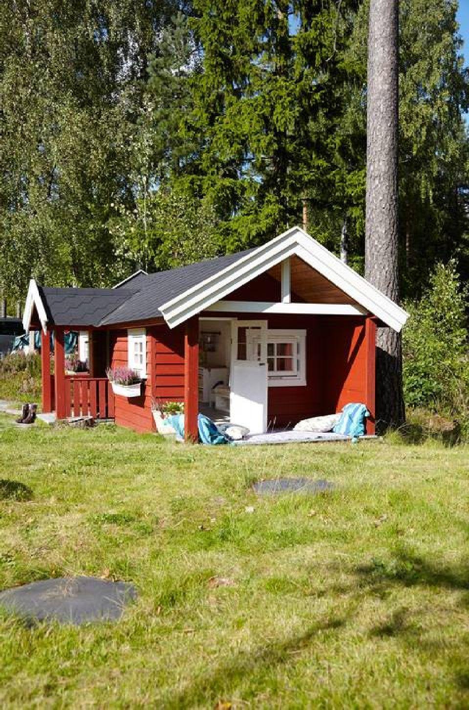 adelaparvu.com despre casuta de gradina pentru copii, Foto klikk.no, Per Erik Jaeger (4)