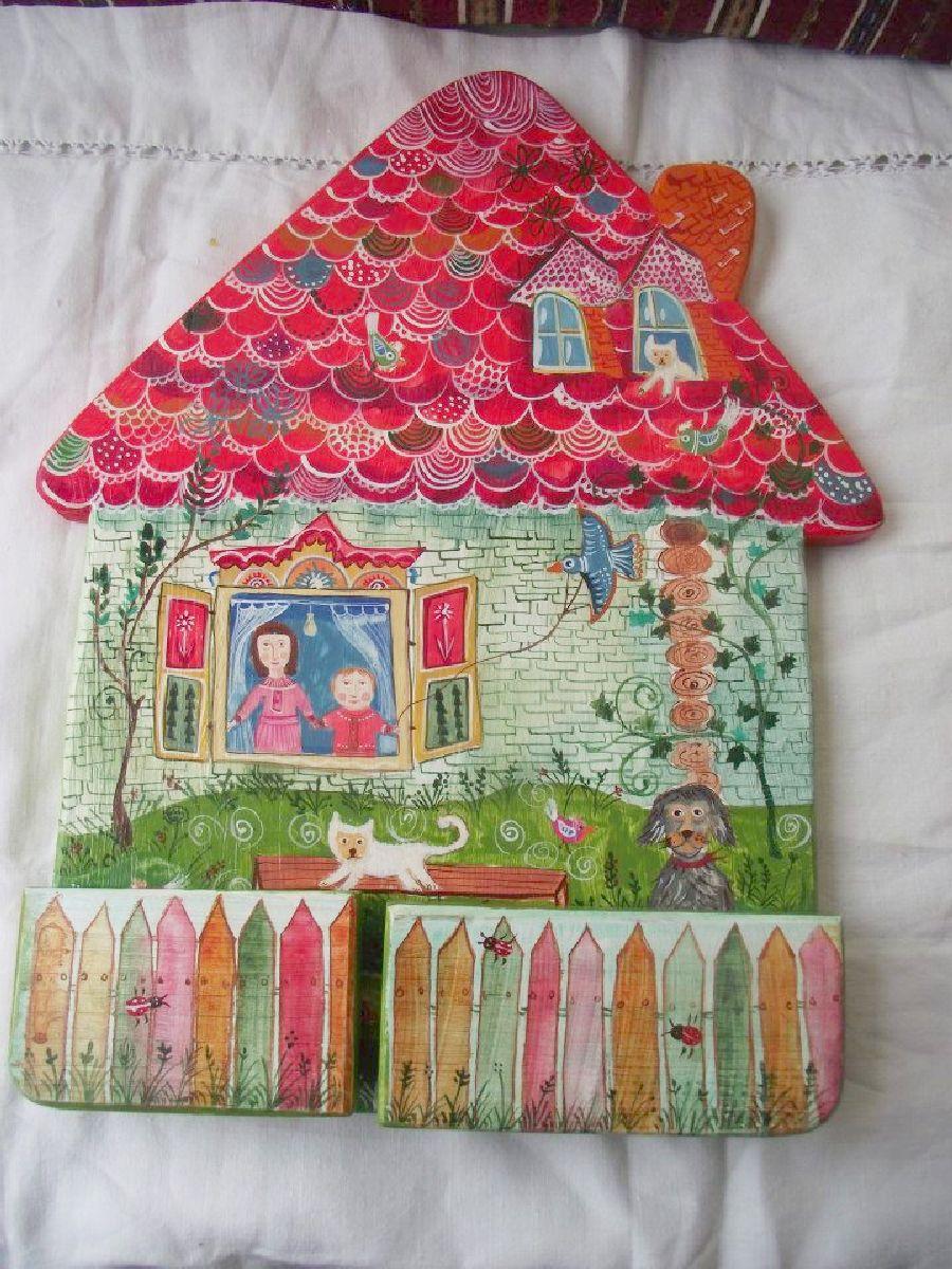 adelaparvu.com despre ingeri pictati, ingeri din lemn, artist Beatrice Iordan (17)