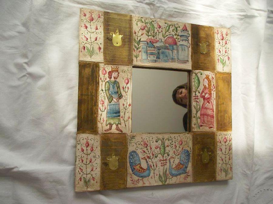 adelaparvu.com despre ingeri pictati, ingeri din lemn, artist Beatrice Iordan (22)
