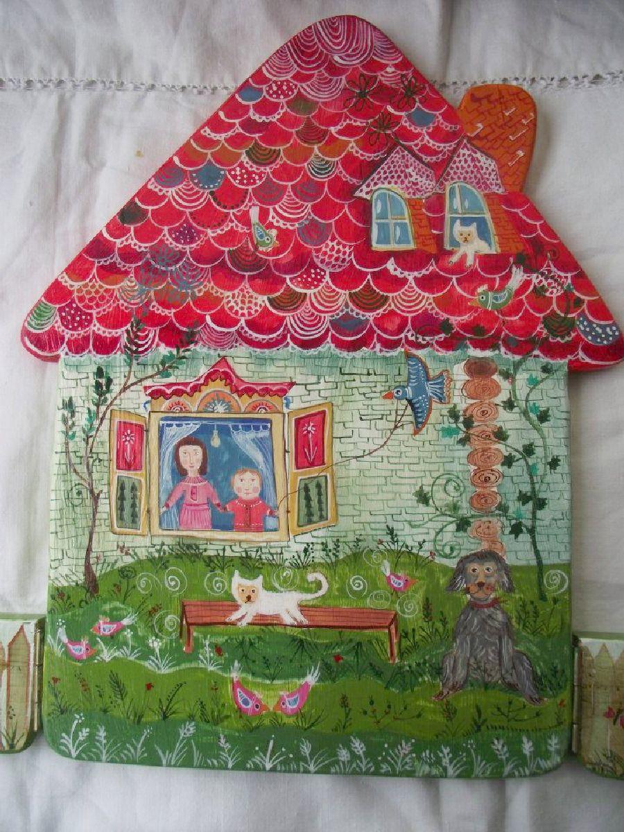 adelaparvu.com despre ingeri pictati, ingeri din lemn, artist Beatrice Iordan (23)