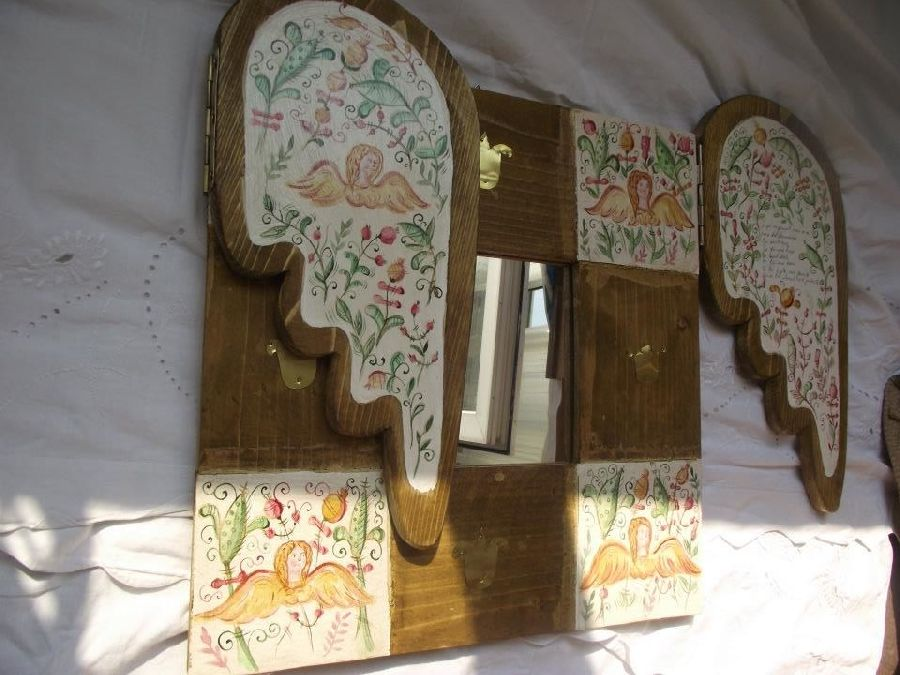 adelaparvu.com despre ingeri pictati, ingeri din lemn, artist Beatrice Iordan (24)