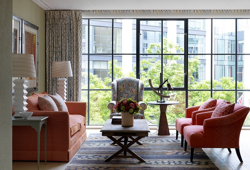adelaparvu.com despre interioare in stil british colorat amenajate, Ham Yard Hotel, design interior Kit Kemp (14)