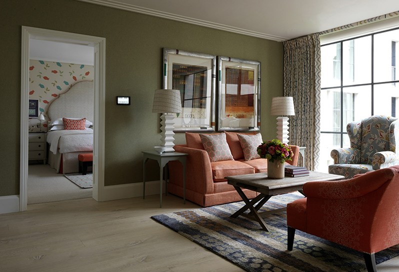 adelaparvu.com despre interioare in stil british colorat amenajate, Ham Yard Hotel, design interior Kit Kemp (17)
