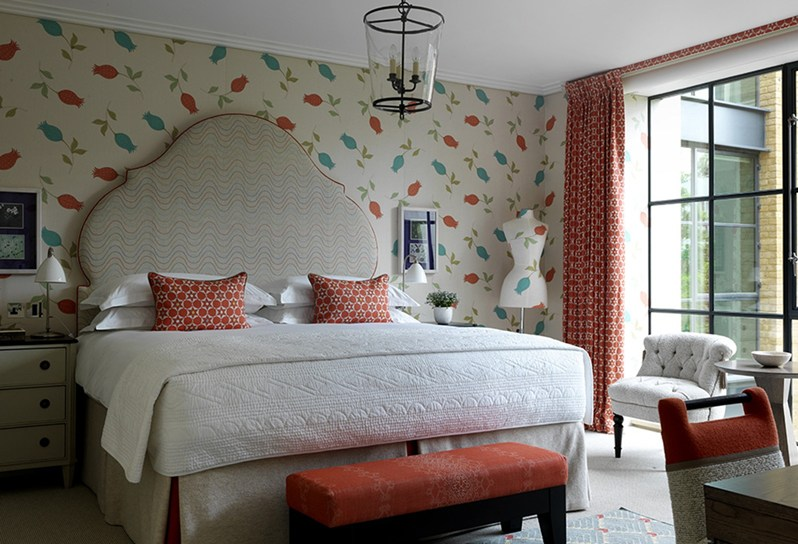 adelaparvu.com despre interioare in stil british colorat amenajate, Ham Yard Hotel, design interior Kit Kemp (18)