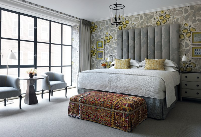 adelaparvu.com despre interioare in stil british colorat amenajate, Ham Yard Hotel, design interior Kit Kemp (22)
