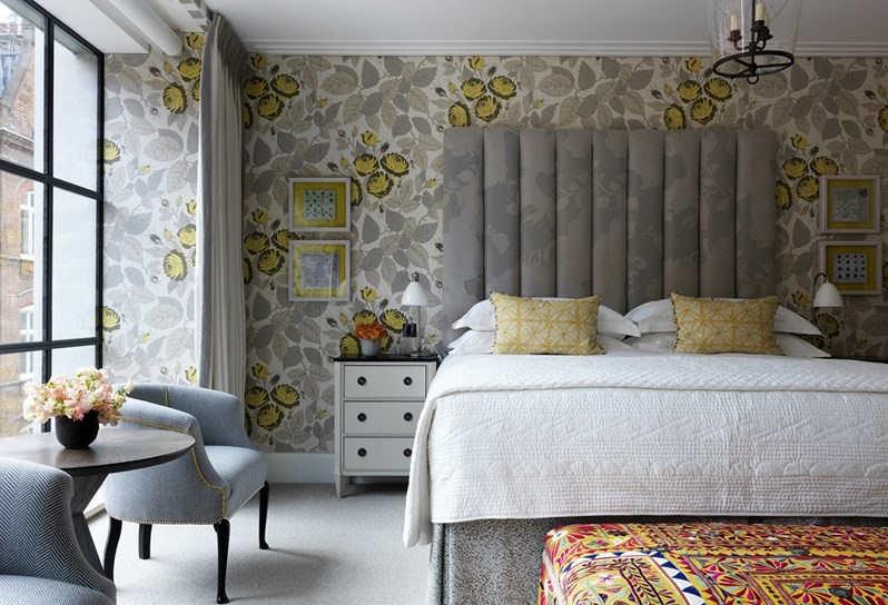 adelaparvu.com despre interioare in stil british colorat amenajate, Ham Yard Hotel, design interior Kit Kemp (23)