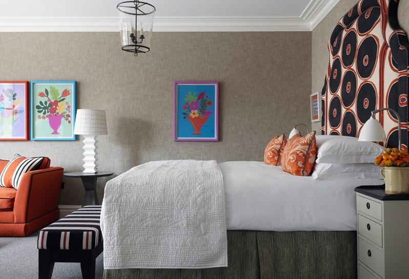 adelaparvu.com despre interioare in stil british colorat amenajate, Ham Yard Hotel, design interior Kit Kemp (35)