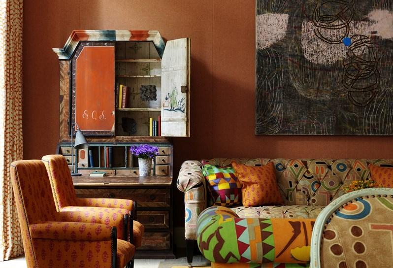 adelaparvu.com despre interioare in stil british colorat amenajate, Ham Yard Hotel, design interior Kit Kemp (57)