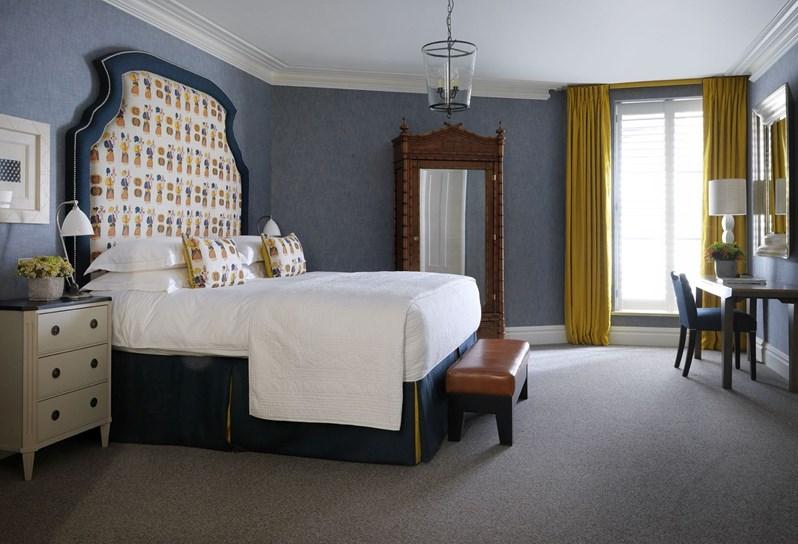 adelaparvu.com despre interioare in stil british colorat amenajate, Ham Yard Hotel, design interior Kit Kemp (8)