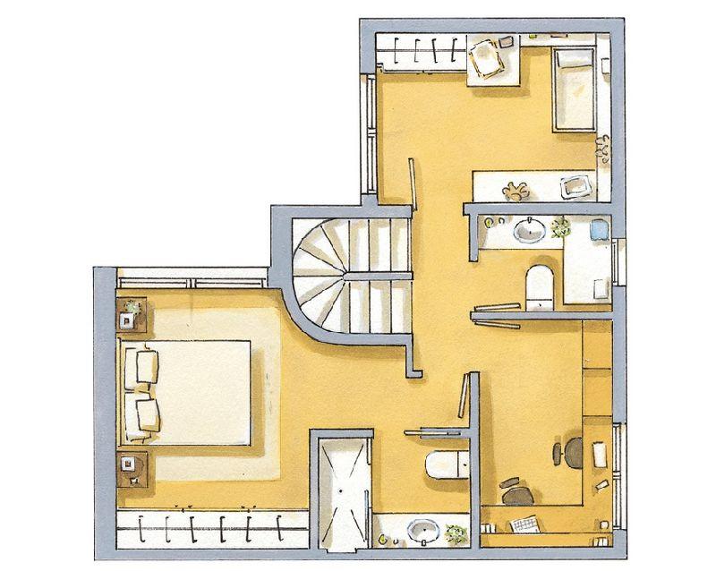 adelaparvu.com despre locuinta de 65 de mep pe doua niveluri, Foto ElMueble (9)
