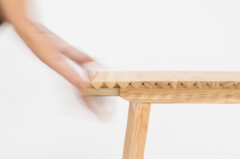 adelaparvu.com despre masa cu fata reglabila, Wooden Clothe, design Nathalie Dackelid  (5)