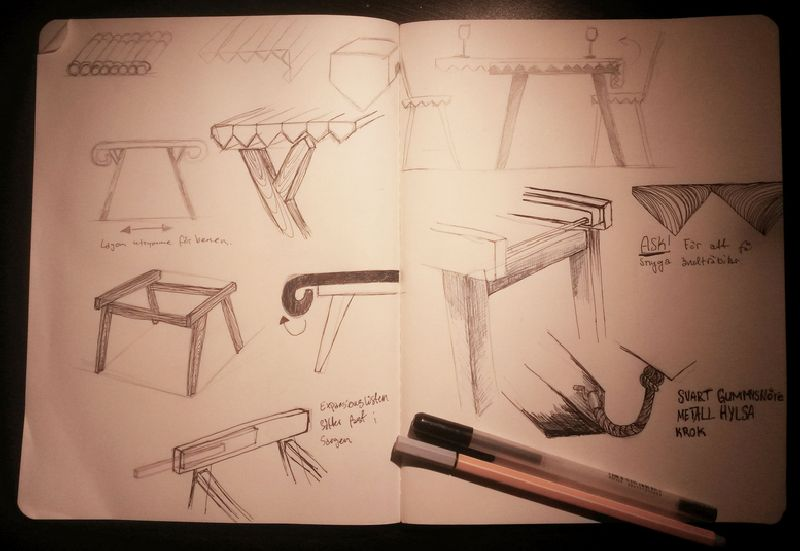 adelaparvu.com despre masa cu fata reglabila, Wooden Clothe, design Nathalie Dackelid  (7)