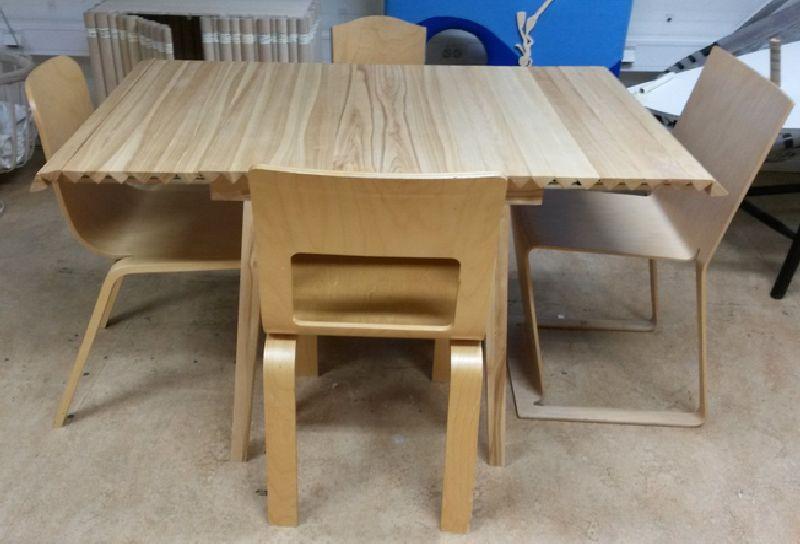 adelaparvu.com despre masa cu fata reglabila, Wooden Clothe, design Nathalie Dackelid  (8)