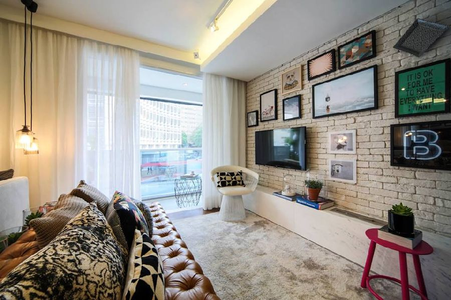 adelaparvu.com despre pat in living, design interior Fernanda Marques (2)