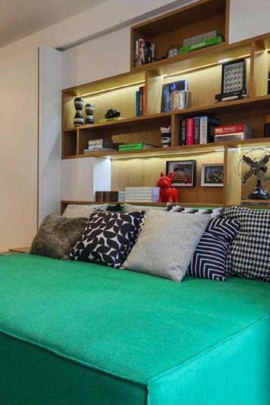adelaparvu.com despre pat in living, design interior Fernanda Marques (4)