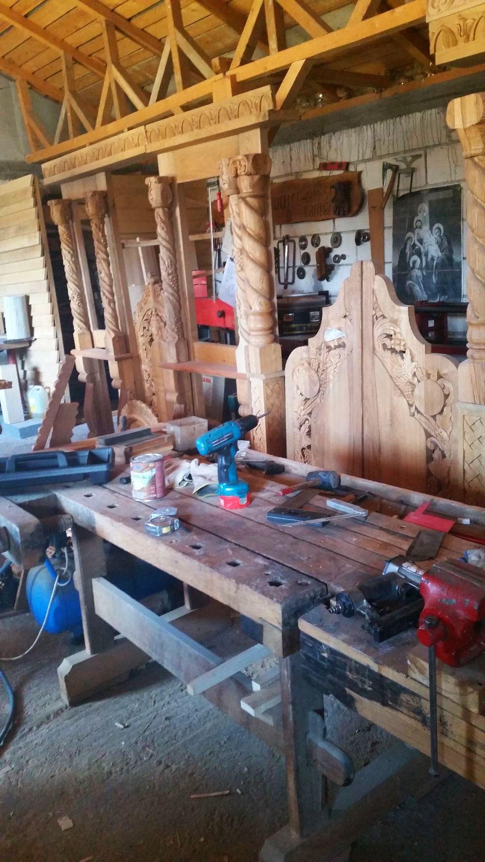 adelaparvu.com despre sculptorul in lemn Ion Moise din Topoloveni (11)
