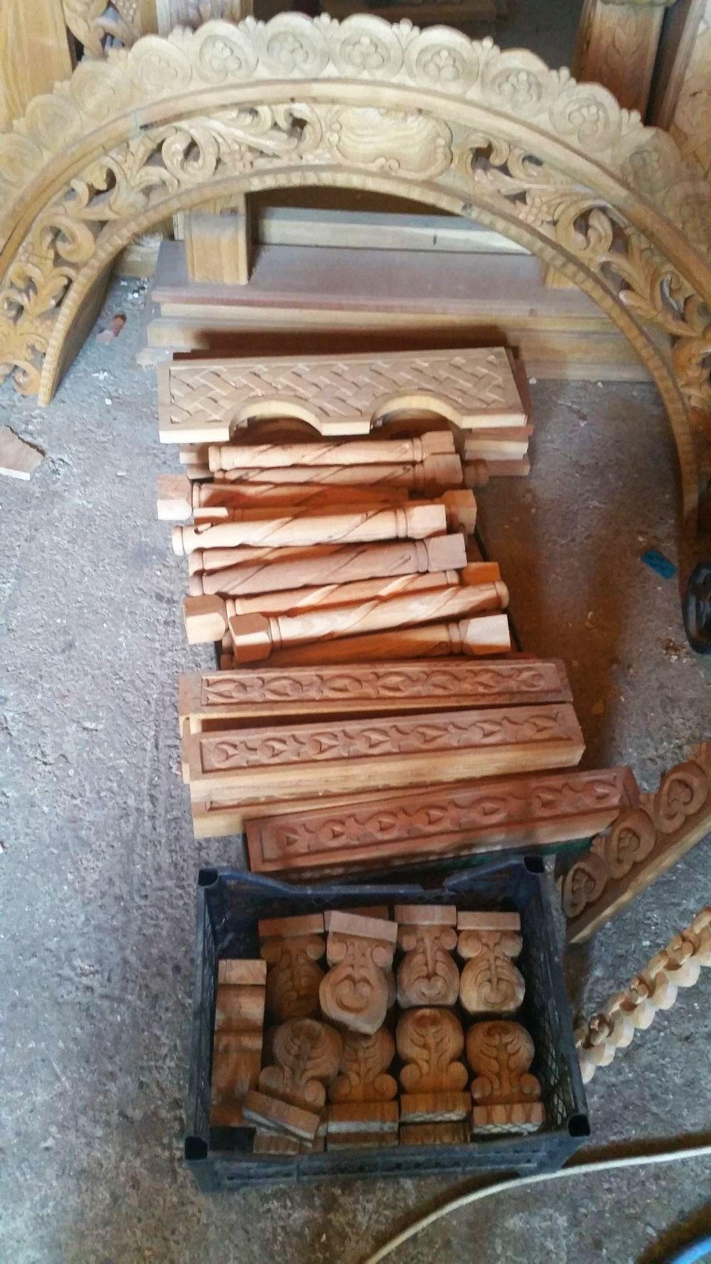 adelaparvu.com despre sculptorul in lemn Ion Moise din Topoloveni (12)
