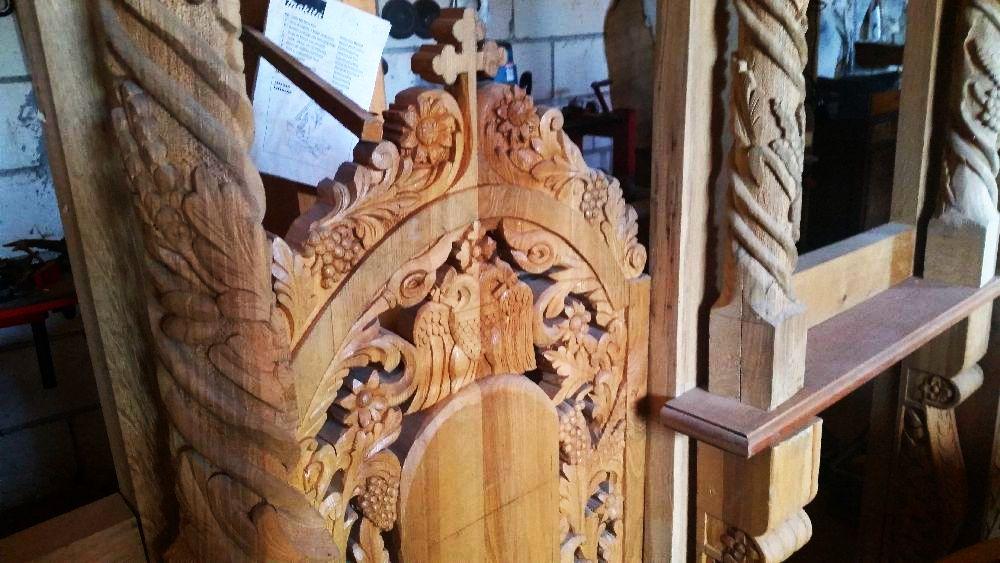 adelaparvu.com despre sculptorul in lemn Ion Moise din Topoloveni (20)