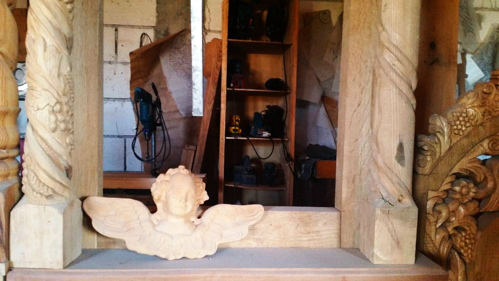 adelaparvu.com despre sculptorul in lemn Ion Moise din Topoloveni (23)