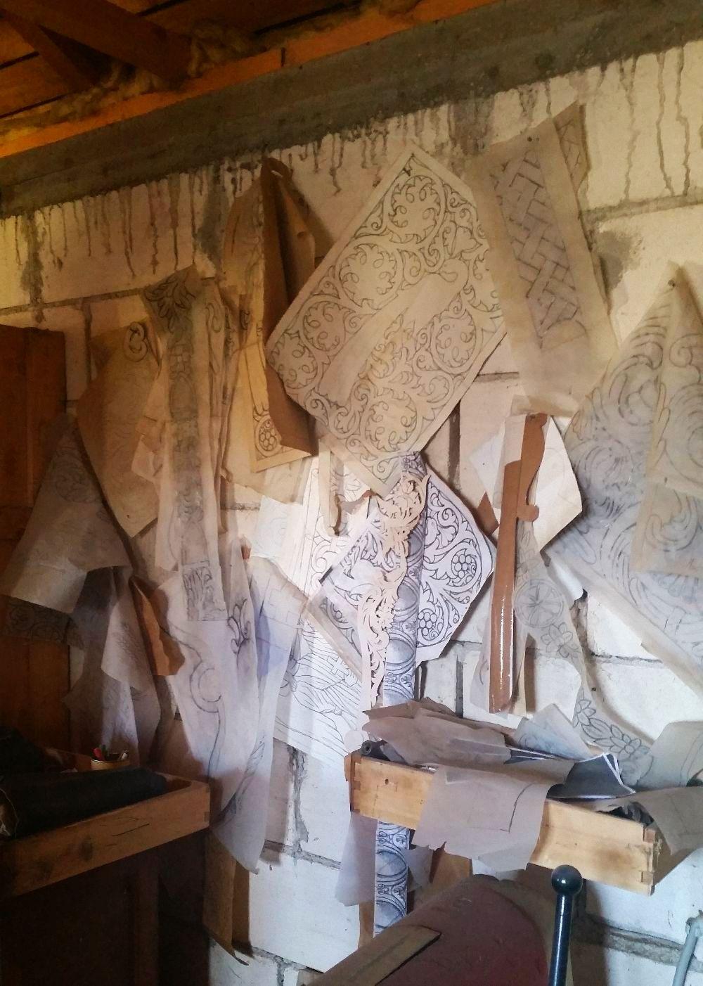 adelaparvu.com despre sculptorul in lemn Ion Moise din Topoloveni (25)