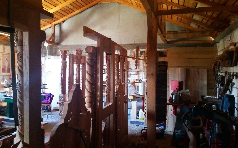 adelaparvu.com despre sculptorul in lemn Ion Moise din Topoloveni (30)