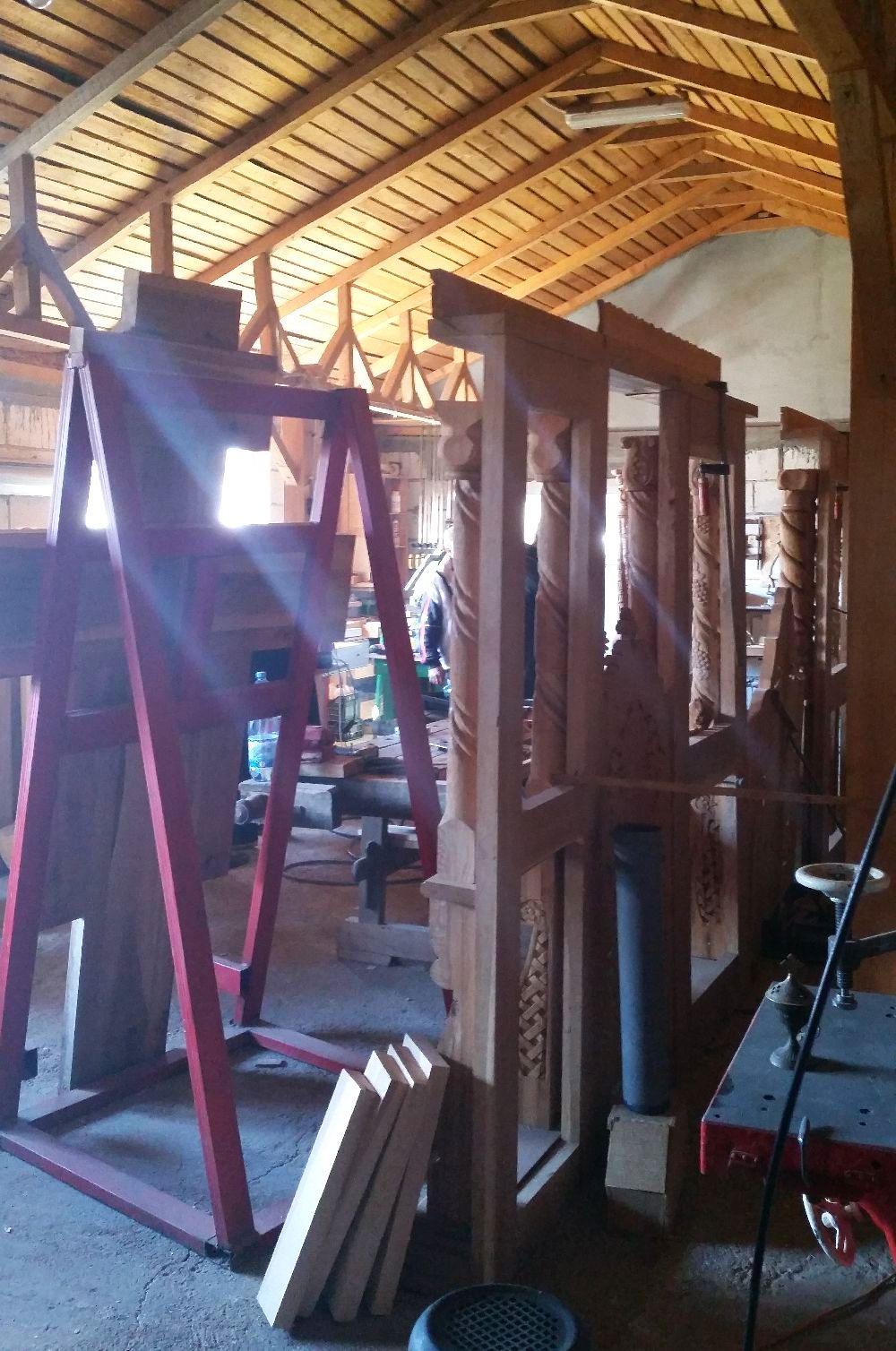 adelaparvu.com despre sculptorul in lemn Ion Moise din Topoloveni (32)