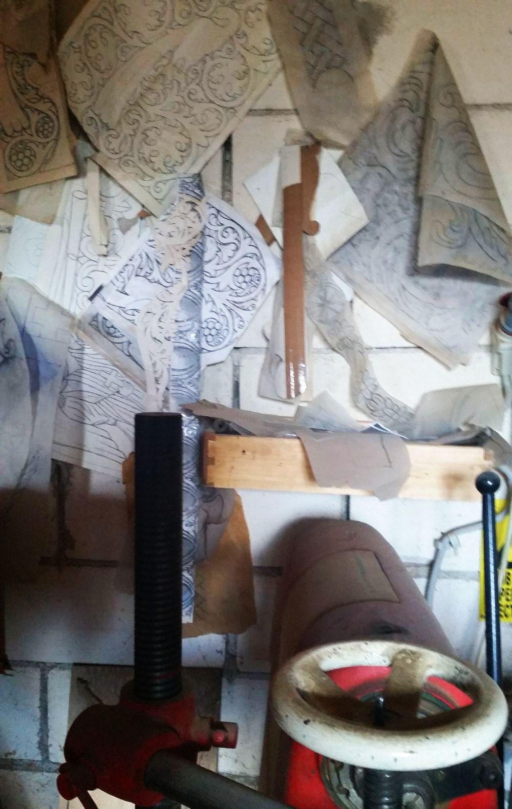 adelaparvu.com despre sculptorul in lemn Ion Moise din Topoloveni (51)