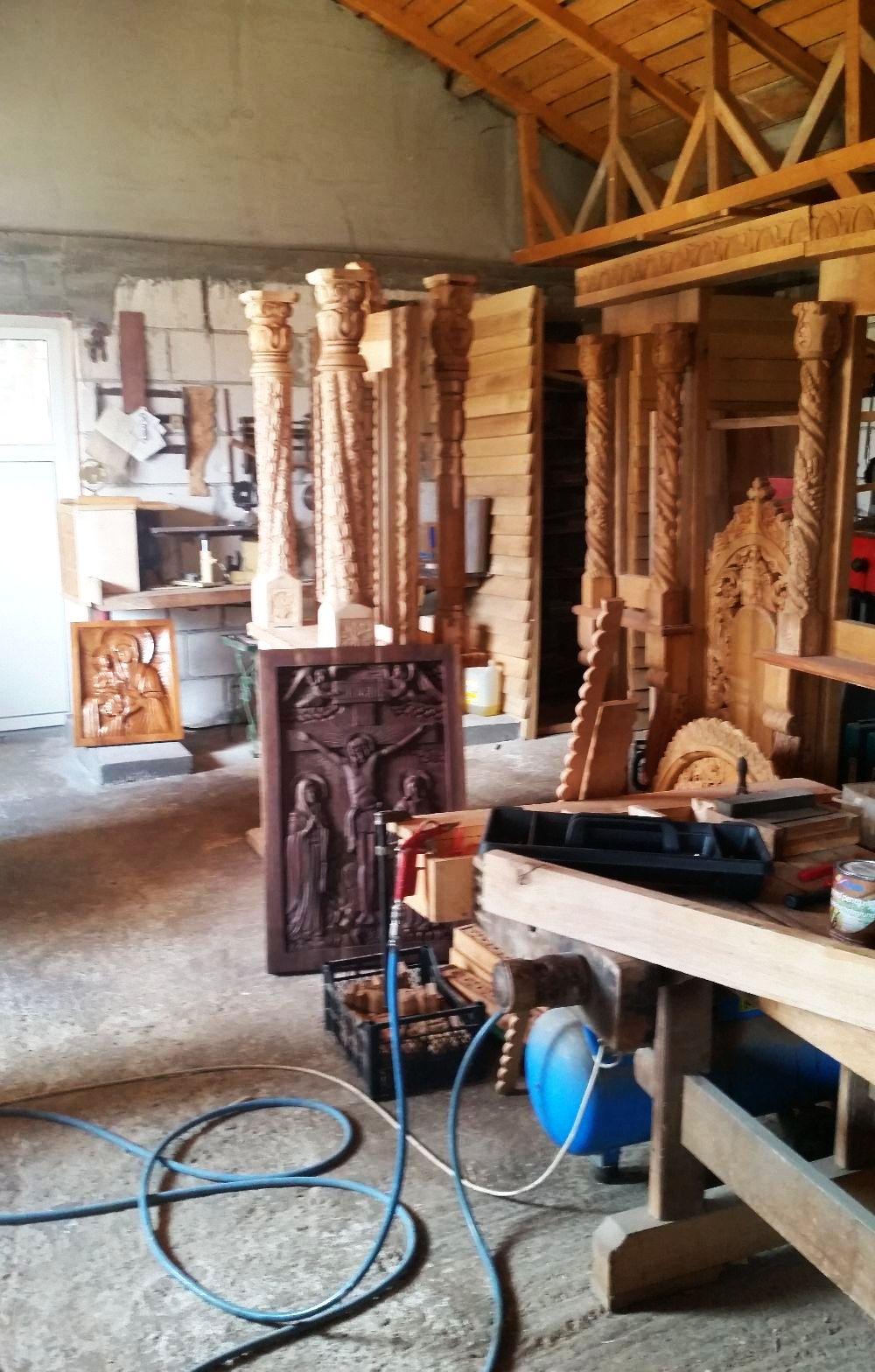 adelaparvu.com despre sculptorul in lemn Ion Moise din Topoloveni (57)