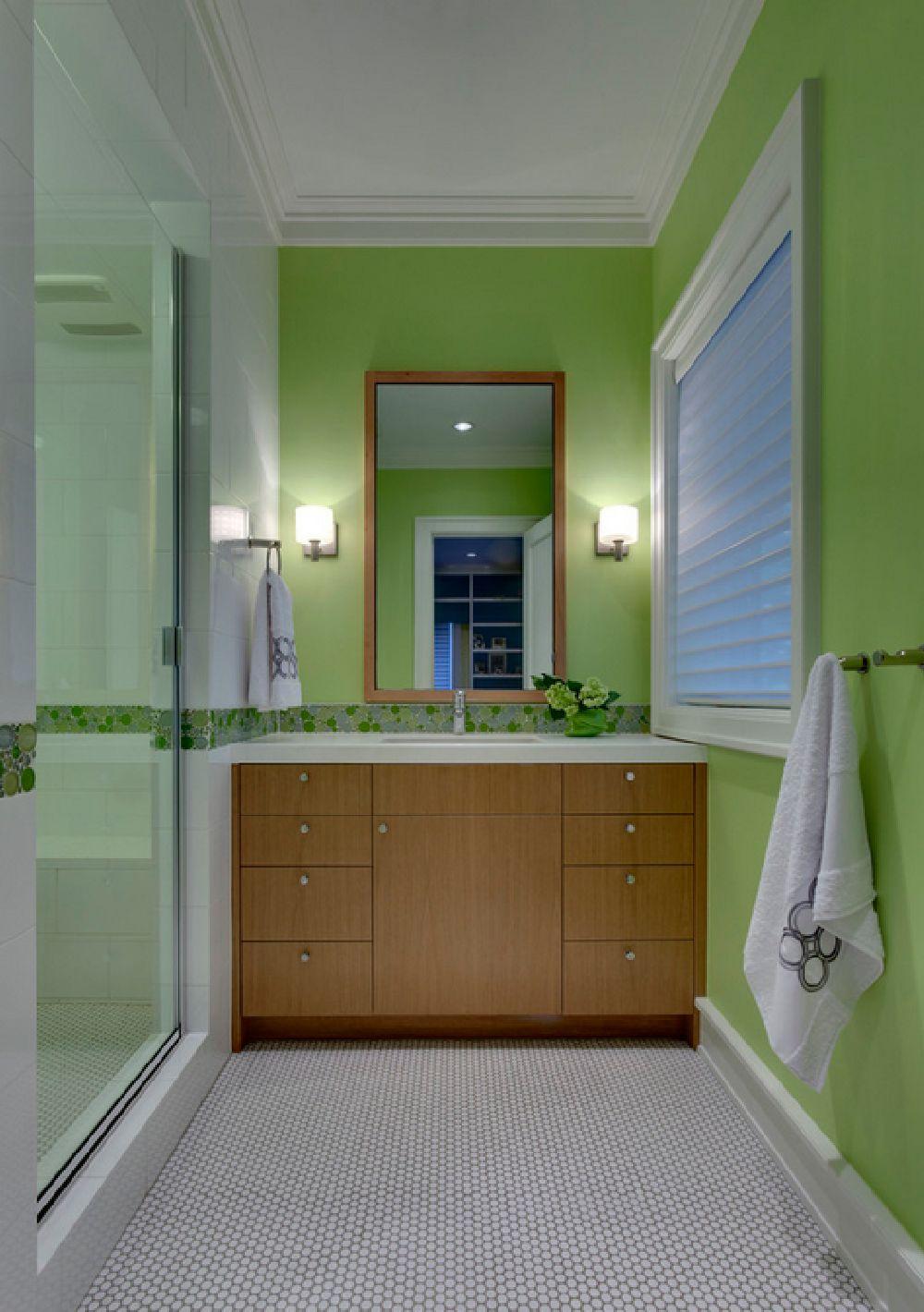 adelaparvu.com despre vopsea lavabila in bucatarie si baie, Foto Domiteaux and Baggett Architects