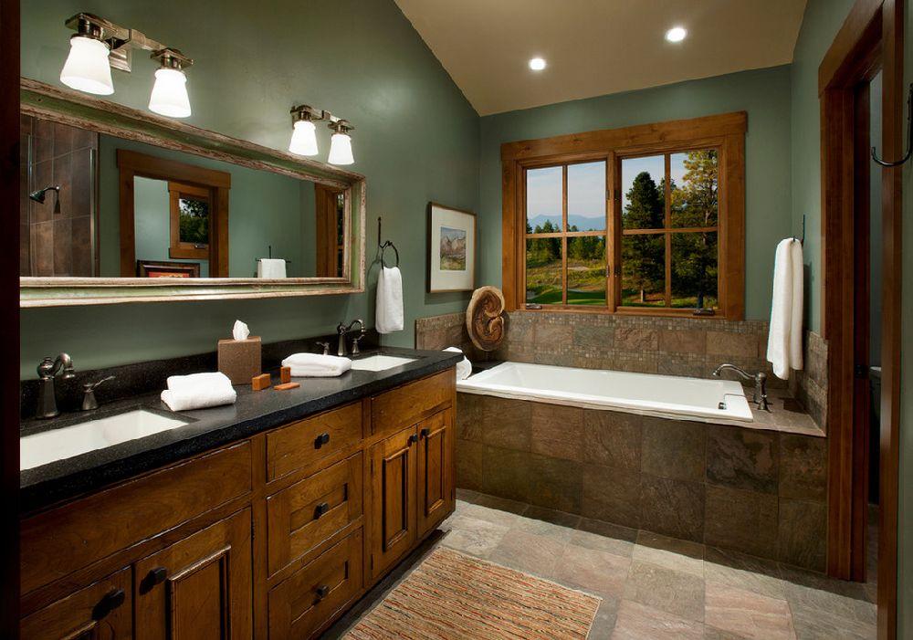 adelaparvu.com despre vopsea lavabila in bucatarie si baie, Foto Hunter and Company Interior Design