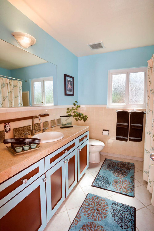 adelaparvu.com despre vopsea lavabila in bucatarie si baie, Foto Susan Diana Harris Interior Design