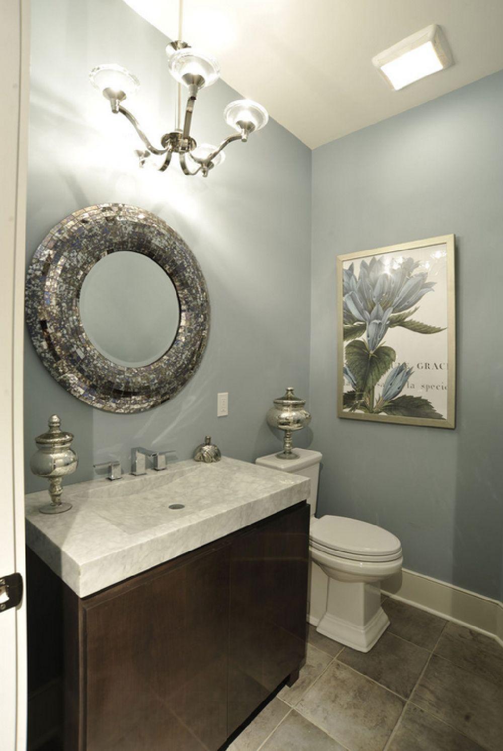 adelaparvu.com despre vopsea lavabila in bucatarie si baie, Foto Weaver Custom Homes