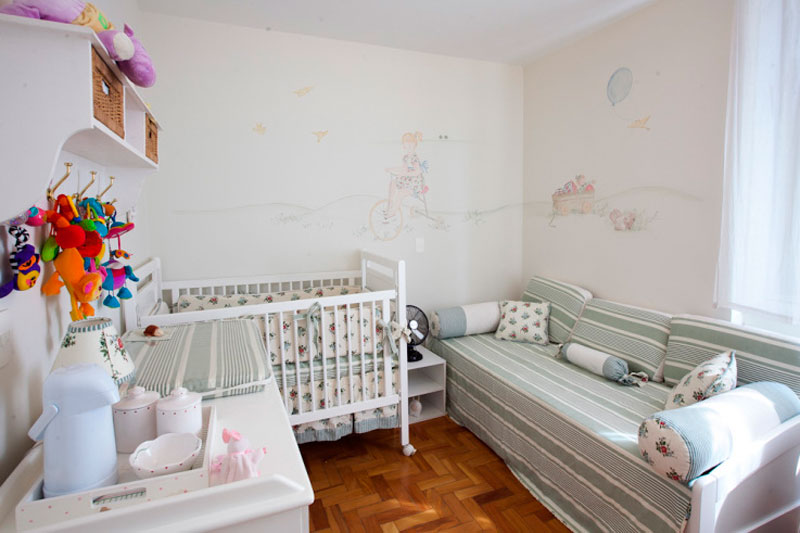 adelaparvu.com despre amenajarea camerei bebelusului, Foto Casa Abril (1)