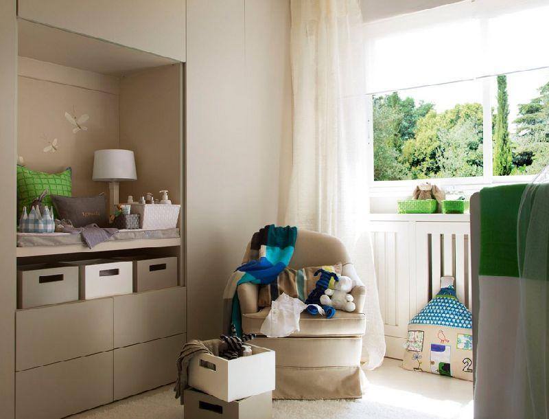 adelaparvu.com despre amenajarea camerei bebelusului Foto ElMueble (10)