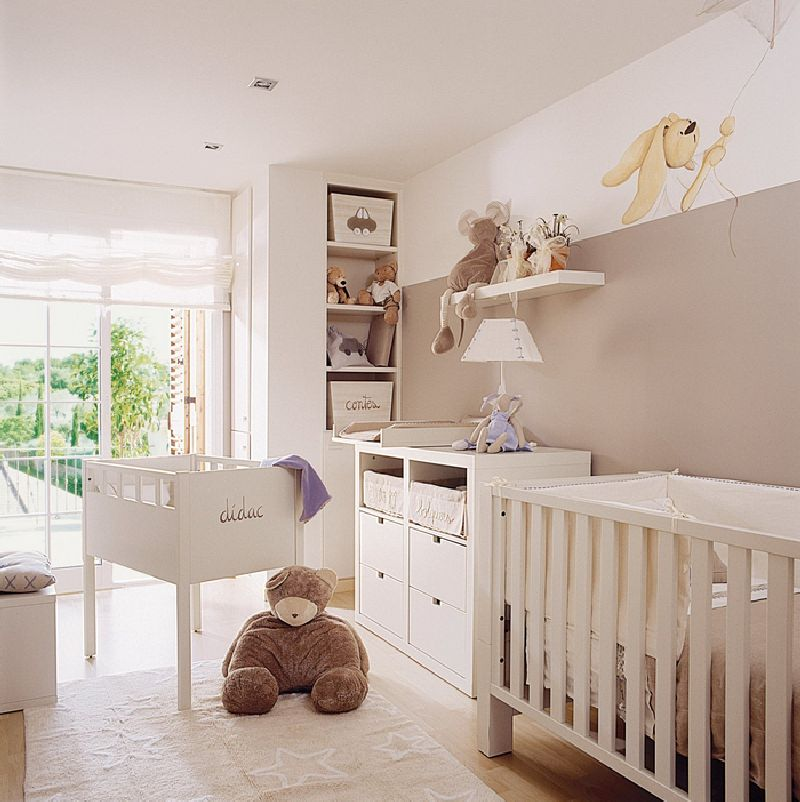 adelaparvu.com despre amenajarea camerei bebelusului Foto ElMueble (4)