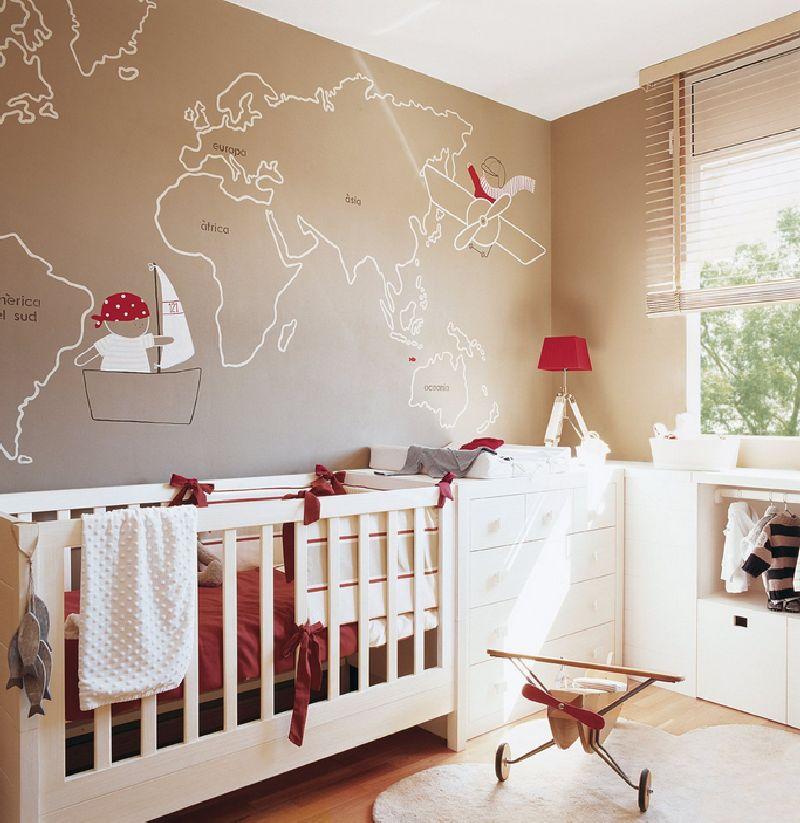 adelaparvu.com despre amenajarea camerei bebelusului Foto ElMueble (6)