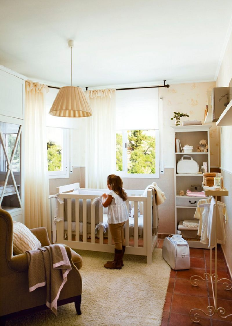 adelaparvu.com despre amenajarea camerei bebelusului Foto ElMueble (7)
