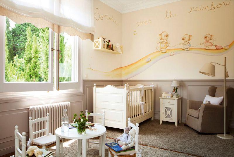 adelaparvu.com despre amenajarea camerei bebelusului Foto ElMueble (8)