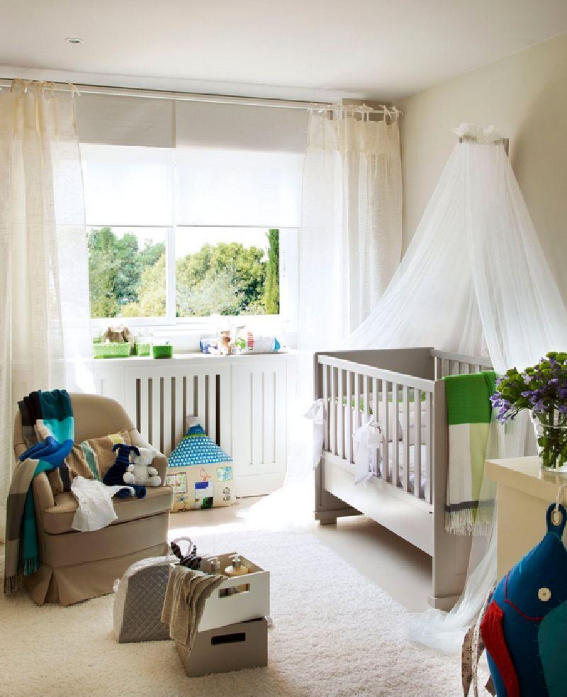 adelaparvu.com despre amenajarea camerei bebelusului Foto ElMueble (9)