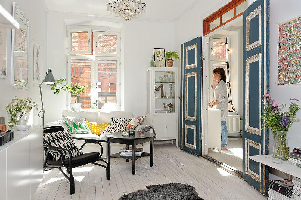 adelaparvu.com despre apartament 2 camere 51 mp Suedia, Foto Alvhem (6)