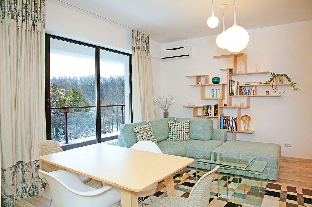adelaparvu.com despre apartament 3 camere, 75 mp in Bucuresti, design interior Val Decor, Alia Bakutayan si Daniel Tufis, Foto Alia Bakutayan (2)