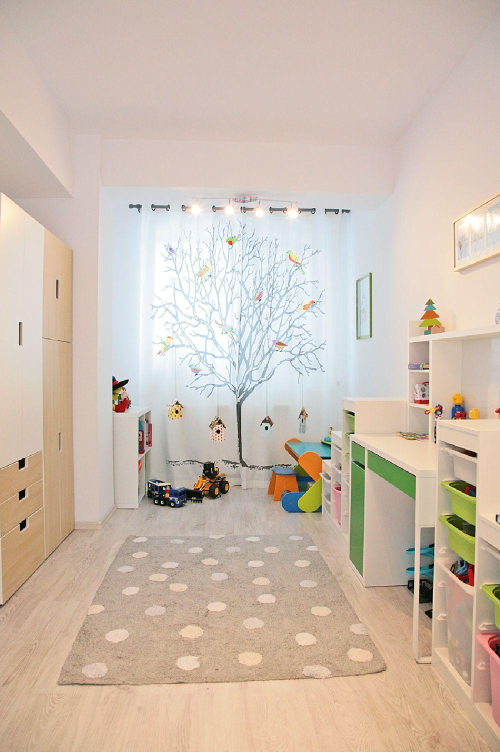 adelaparvu.com despre apartament 3 camere, 75 mp in Bucuresti, design interior Val Decor, Alia Bakutayan si Daniel Tufis, Foto Alia Bakutayan (31)
