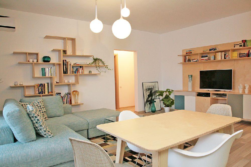 adelaparvu.com despre apartament 3 camere, 75 mp in Bucuresti, design interior Val Decor, Alia Bakutayan si Daniel Tufis, Foto Alia Bakutayan (4)