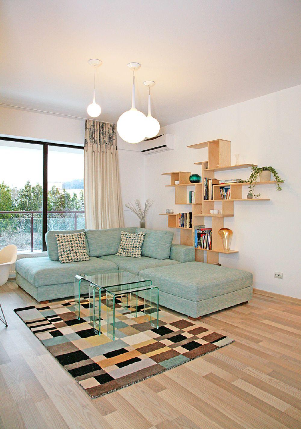 adelaparvu.com despre apartament 3 camere, 75 mp in Bucuresti, design interior Val Decor, Alia Bakutayan si Daniel Tufis, Foto Alia Bakutayan (7)