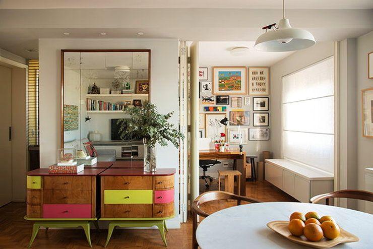 adelaparvu.com despre apartament de 58 mp, design interior Mayra Navarro, Foto Caca Bratke (1)
